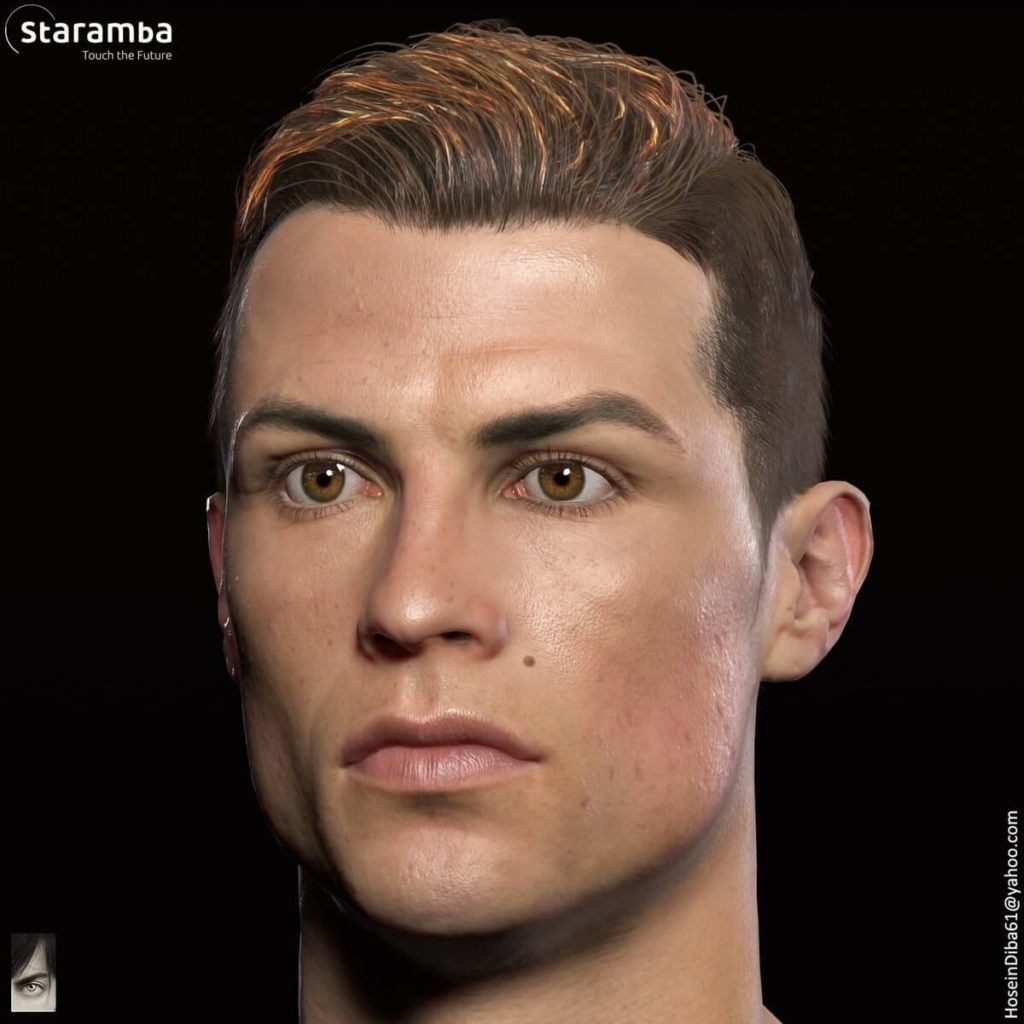 Face Scan - CR7 su FIFA 19