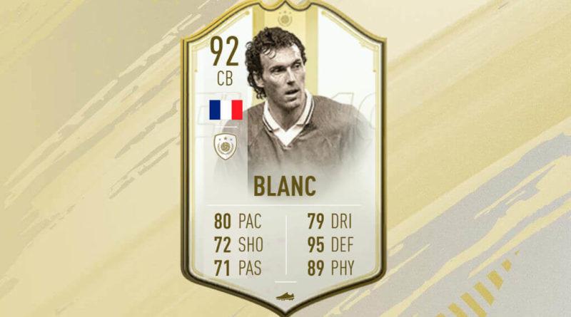 Laurent Blanc Icon Prime Moments SBC