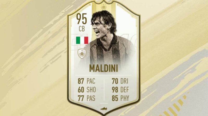 Paolo Maldini Icon Prime Moments SBC