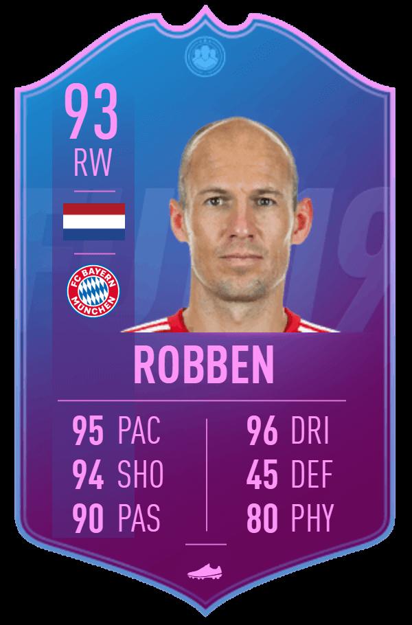 Arjen Robben 93 Fine di un'Era SBC