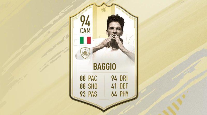 Roberto Baggio Icon Prime Moments