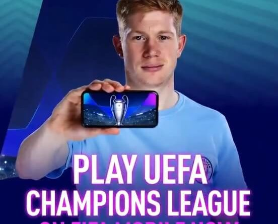 Gioca la UEFA Champions League su EA Sports FIFA Mobile