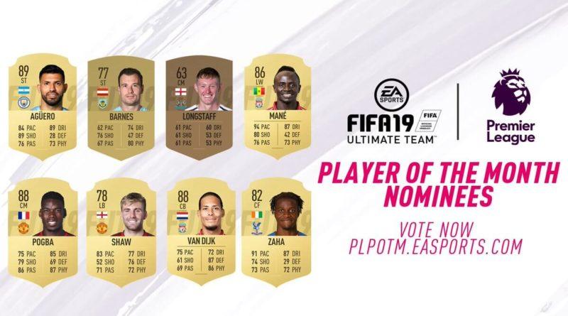 Candidati POTM della Premier League per febbraio 2019