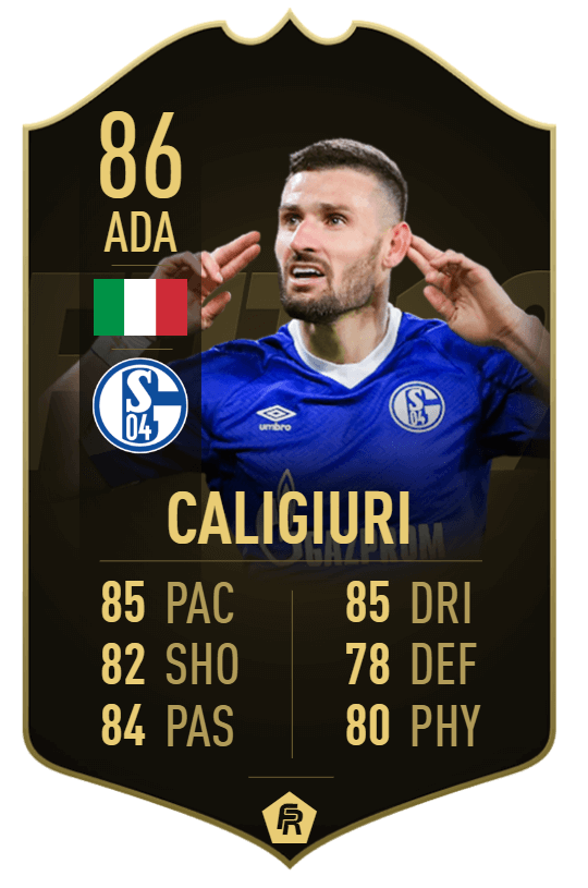 Caligiuri TIF 86 - TOTW 33 prediction