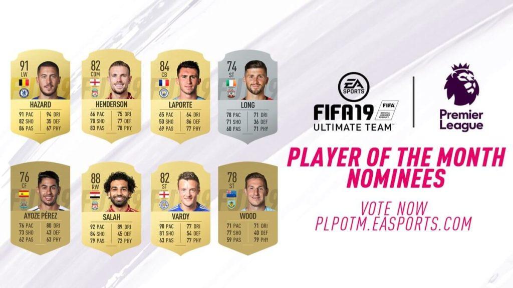 Candidati al POTM di aprile in Premier League