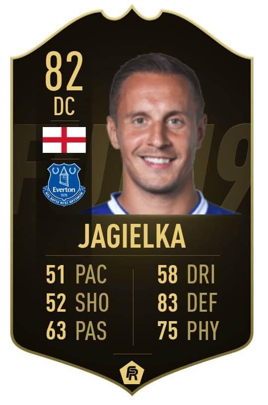 Jagielka IF 82 - TOTW 30 prediction