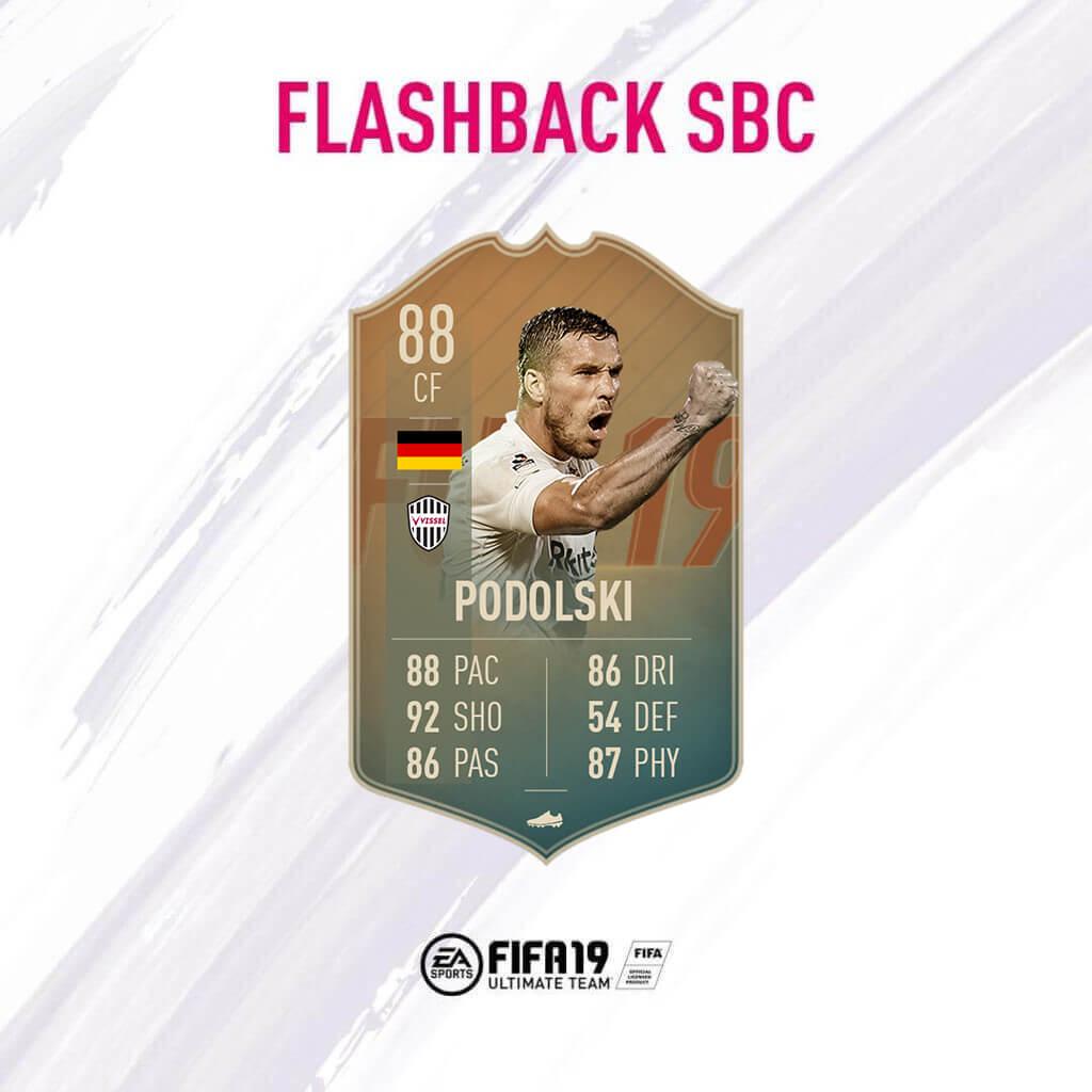 Lukas Podolski 88 flashback SBC