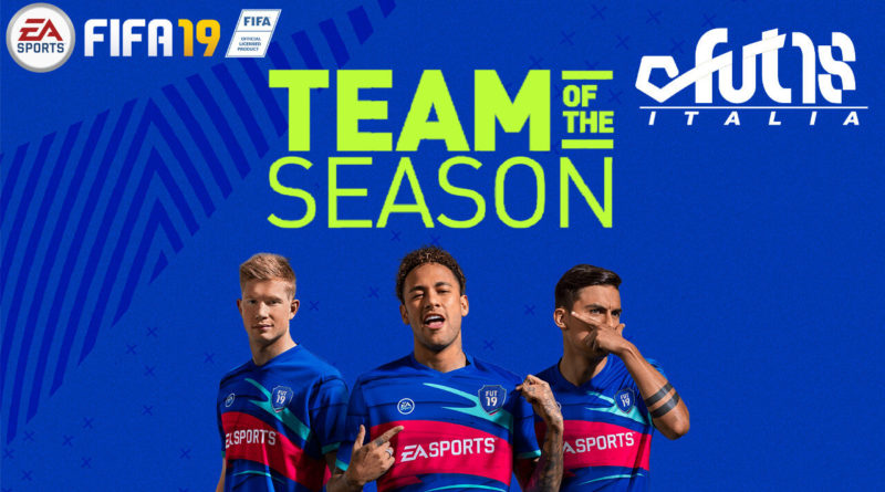 TOTS FIFA 19 - Team of the Season
