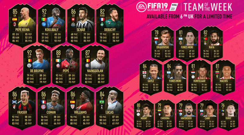 Team of the Week 31 - FIFA 19