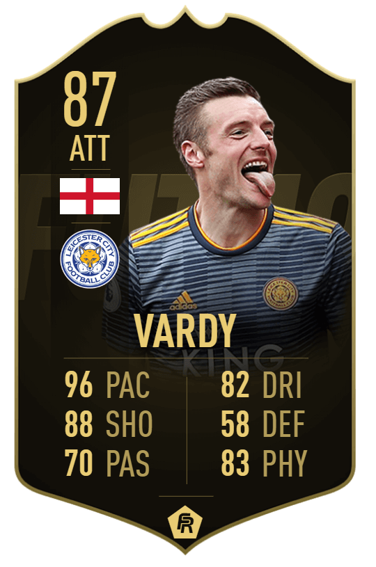 Vardy TIF 87 - TOTW 33 prediction