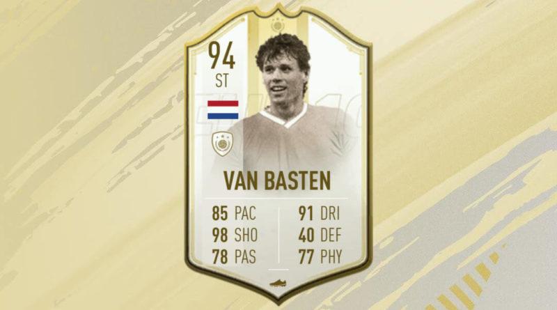 Marco Van Basten Icon Prime Moments SBC