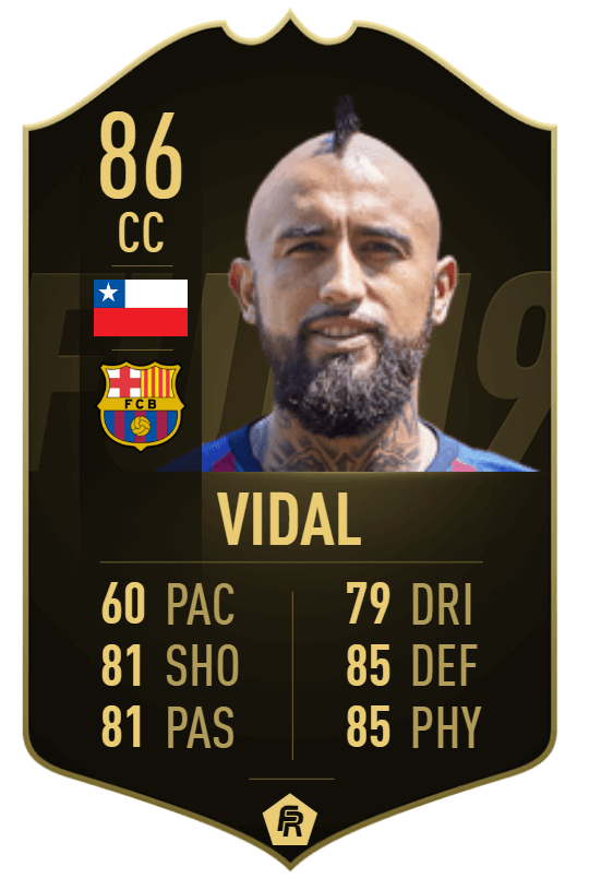 Vidal IF 86 - TOTW 33 prediction