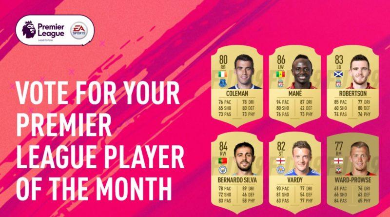 Candidati al premio di POTM di marzo della Premier League