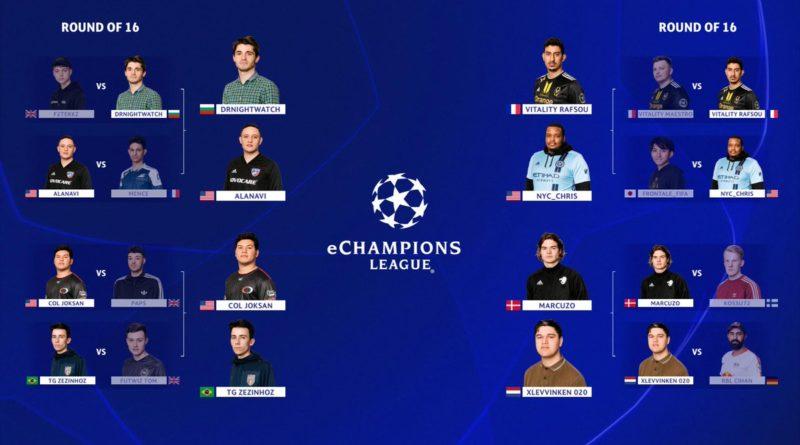Finalisti eChampions League di FIFA 19