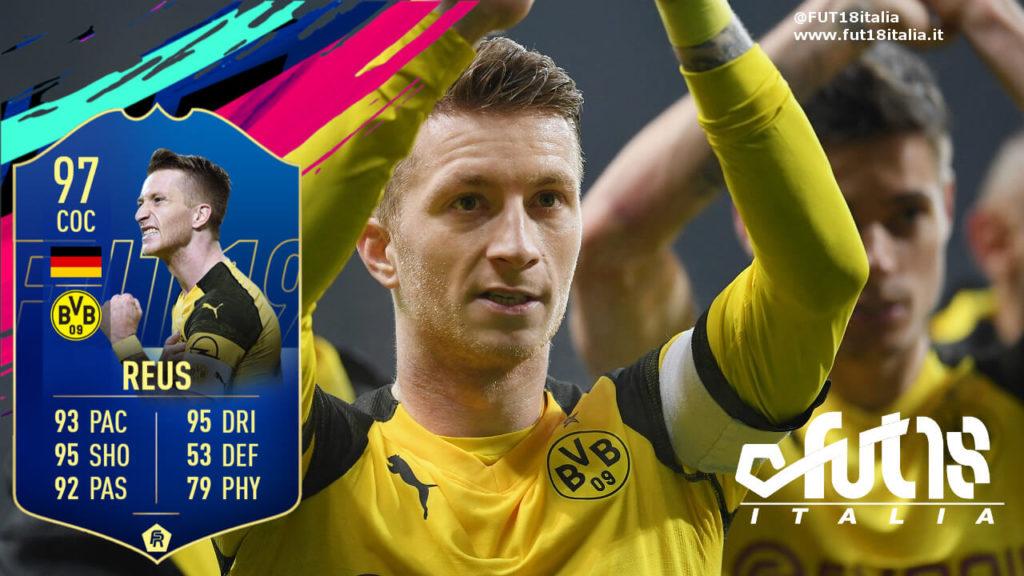 Marco Reus TOTS prediction - FIFA 19