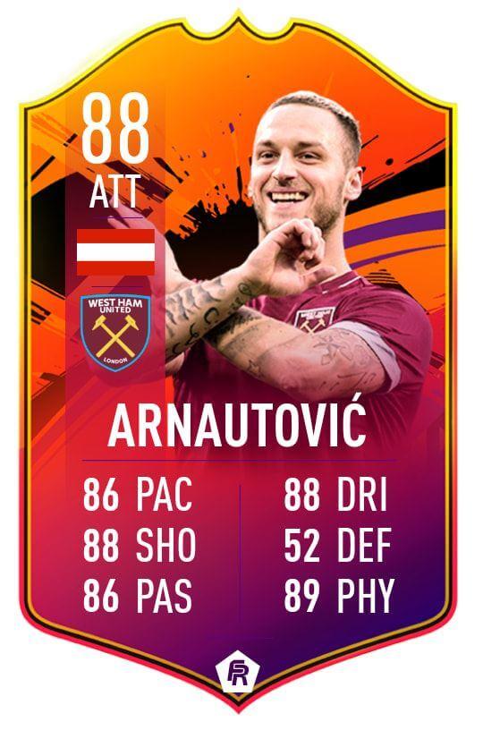 Arnautovic Headliners 88 - TOTW 34 prediction