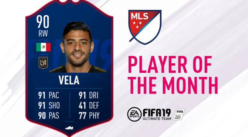 Carlos Vela vince il POTM di aprile in MLS