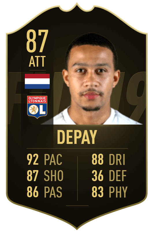 Depay 87 - TOTW 36 prediction