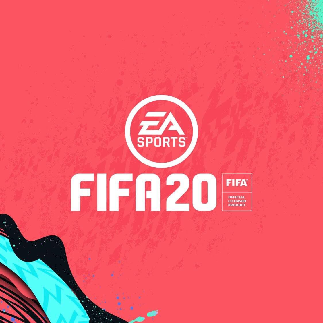 EA Sports FIFA 20 design logo