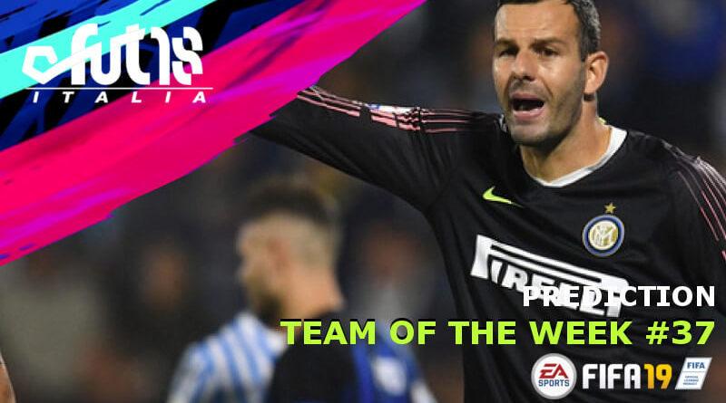 Handanovic protagonista del TOTW 37 in FIFA 19