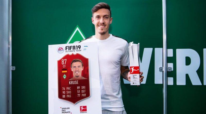 Max Kruse è il vincitore del POTM di marzo in Bundesliga