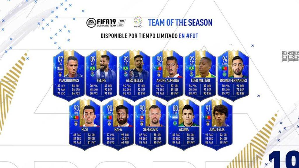 FIFA 19 - Liga NOS Team of the Season