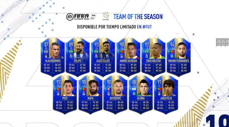 FIFA 19 - Liga NOS Team of the Season