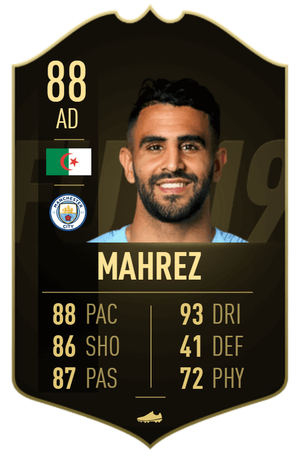Mahrez TIF 88 - TOTW 35 prediction