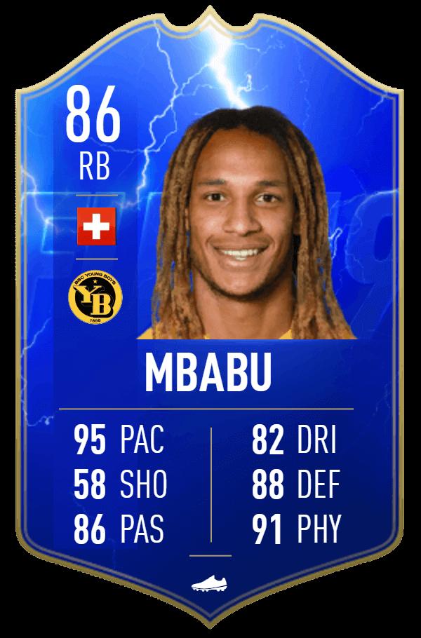Mbabu 86 TOTS Moments SBC