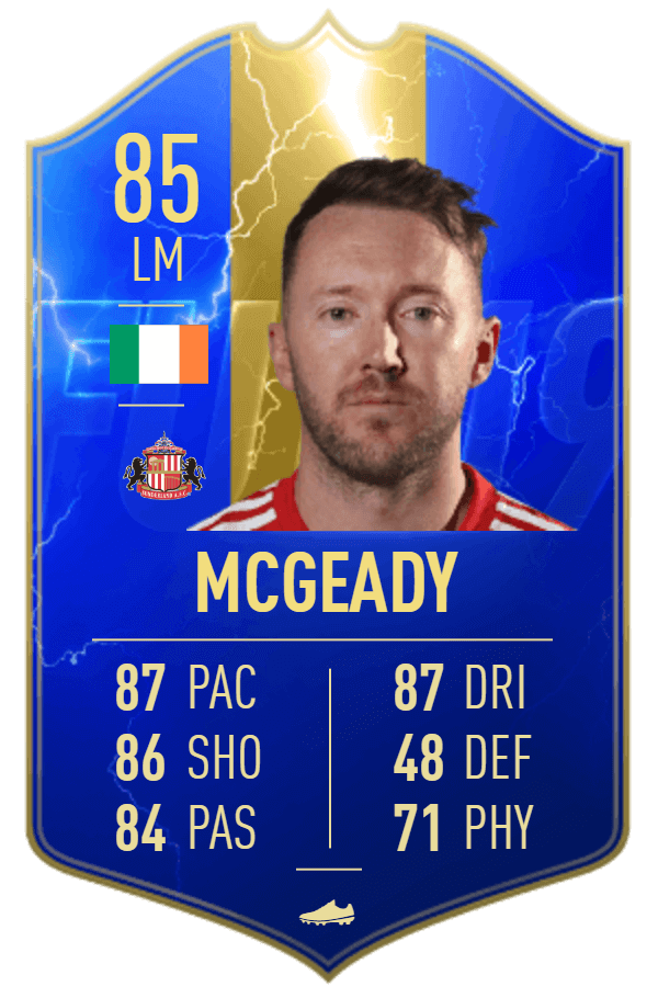 McGeady 85 TOTS SBC