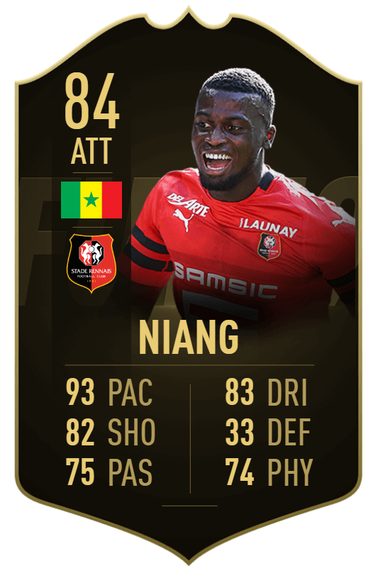 Mbaye Niang IF 84 - TOTW 37 prediction