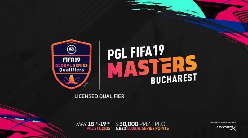 PGL FIFA 19 Masters - Bucarest maggio 2019