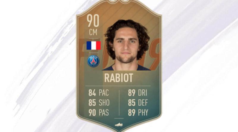 Rabiot 90 flashback SBC