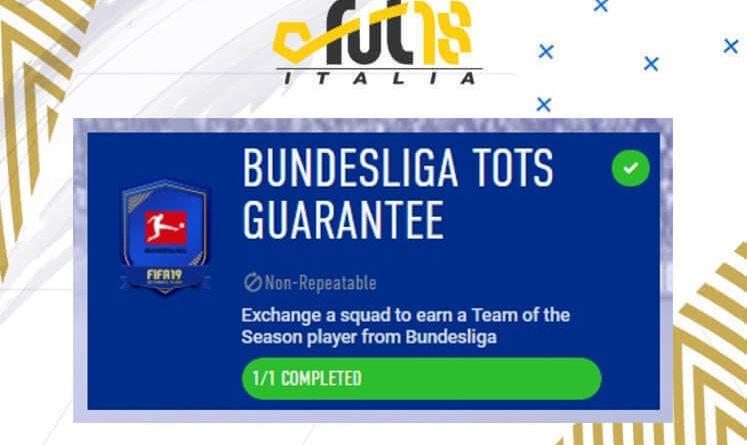 SCR TOTS Bundesliga garantito