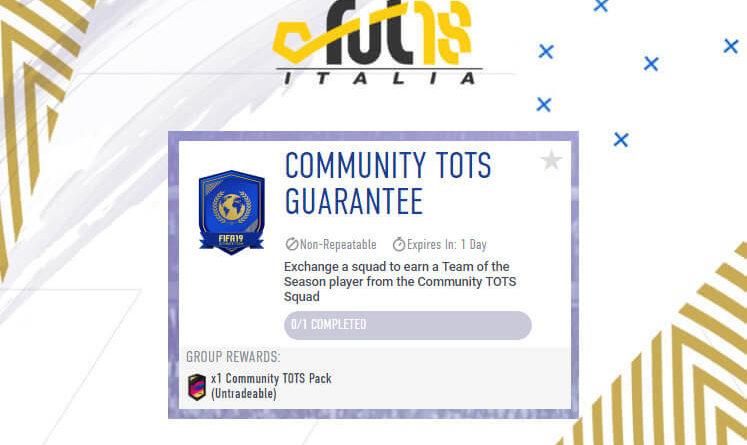 SCR Community TOTS garantito