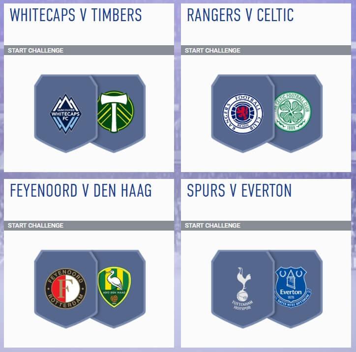 SCR incontri principali del 9 maggio in FIFA 19