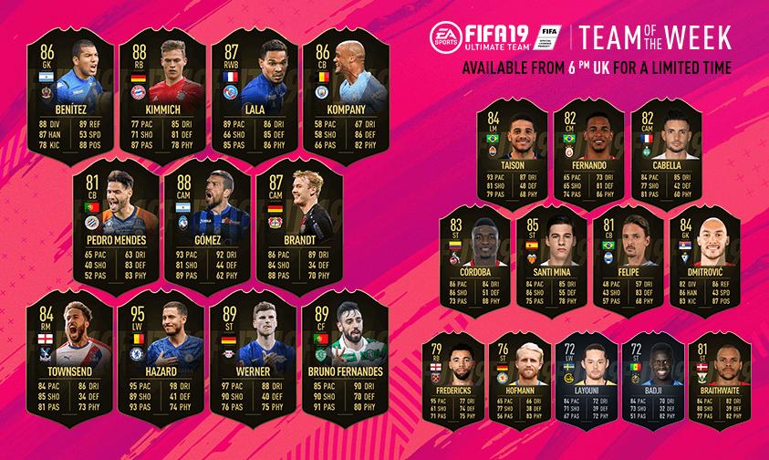 TOTW 34 - FIFA 19