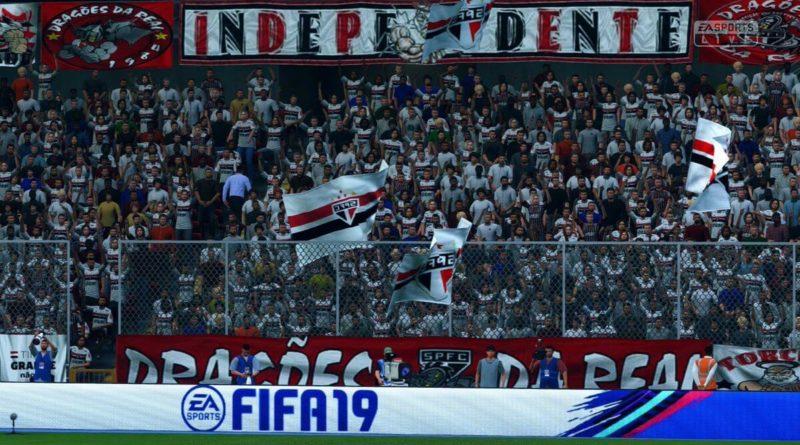 Tifosi e bandiere dell'Indipendiente in FIFA 20