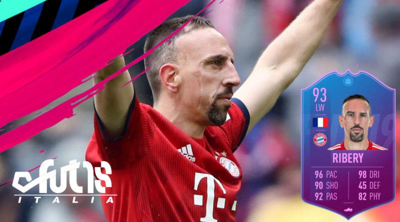 Franck Ribery Fine di un'Era SBC