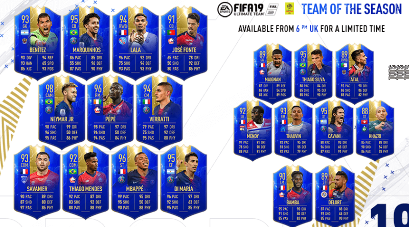 FIFA 19 - TOTS Ligue 1 Conforama