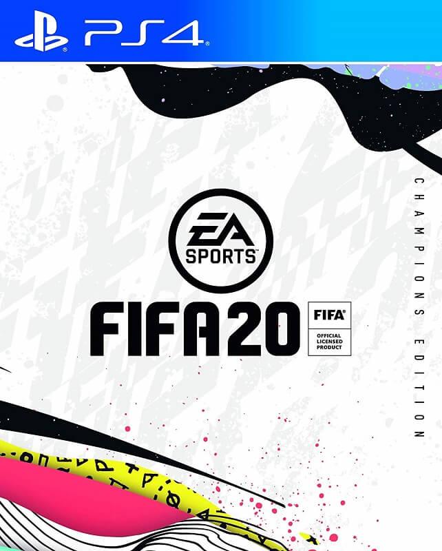 FIFA 20 Champions Edition cover