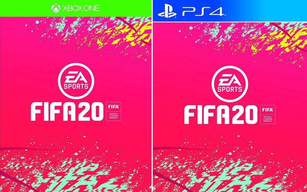 FIFA 20 XBOX One e PS4 Standard Edition cover