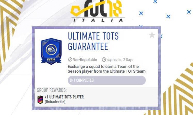 SCR Ultimate TOTS garantito