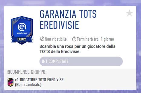 TOTS garantito Eredivisie