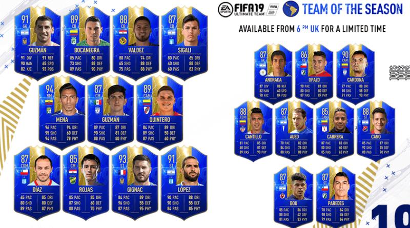 FIFA 19 TOTS Resto del mondo