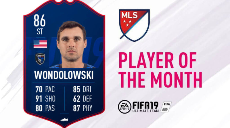 Wondolowski 86 è il POTM della MLS di maggio 2019