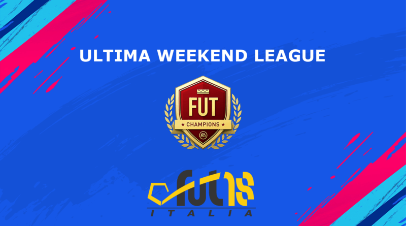 Quando sarà l'ultima Weekend League in FIFA 19
