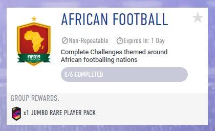 FIFA 19 - African Football SBC