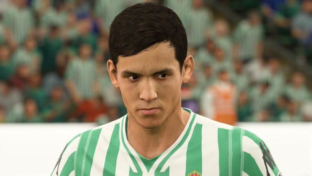FIFA 19 - Aissa Mandi face scan