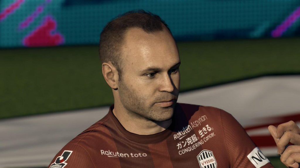 FIFA 19 - Andres Iniesta face scan